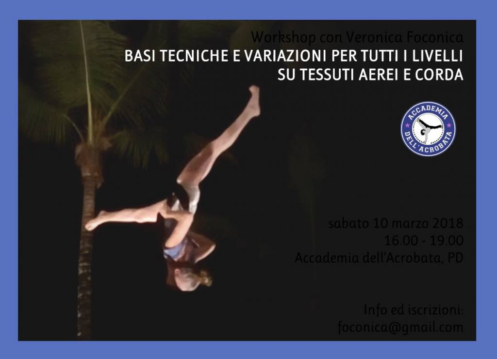 SABATO 10 MARZO – MINI WORKSHOP TESSUTI E CORDA CON VERONICA FOCONICA